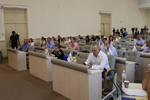 На сессии облсовета депутаты запретили добывать уран под г. Каменское  Днепродзержинск
