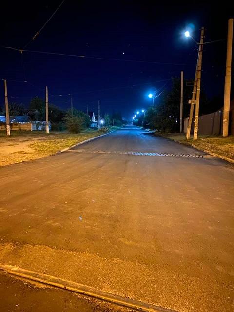 В Каменском завершили ремонт дорожного покрытия по ул. Дорошенко Днепродзержинск