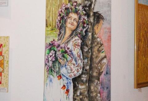 Каменская художница стала участником выставки «Я – художник» Днепродзержинск