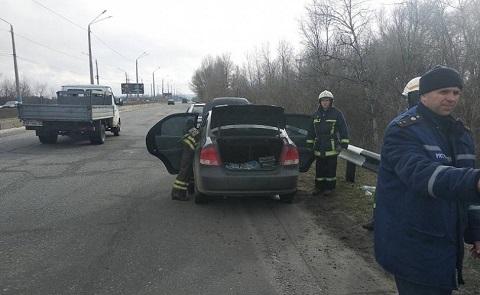 На мостовом переходе в Каменском произошла чрезвычайная ситуация Днепродзержинск