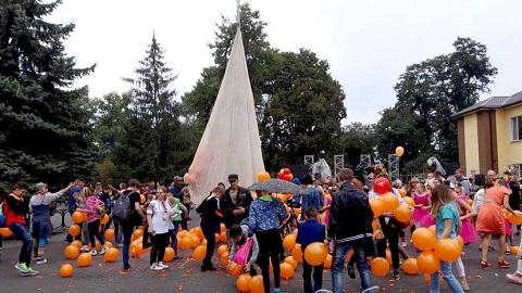 Впервые в День города на территории ЦПКО Каменского прошел фестиваль рыжих Днепродзержинск
