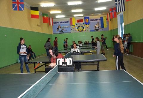 В турнире по настольному теннису среди учащихся Каменского подвели итоги Днепродзержинск
