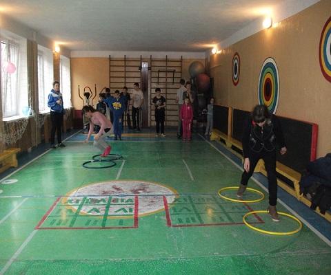 Дети из УВК Каменского стали участниками спортивных соревнований в «Гармонии» Днепродзержинск