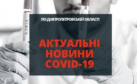 В Каменском 44 новых случая заболевания COVID-19 Днепродзержинск