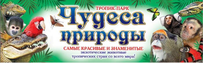 «Чудеса природы» тропик-парка в Днепродзержинске Днепродзержинск