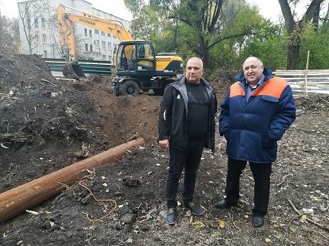 В г. Каменское завершили замену канализационного коллектора Днепродзержинск