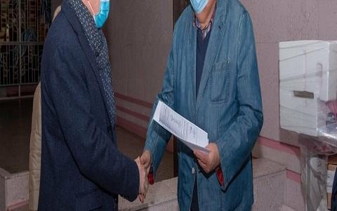 На основную госпитальную базу г. Каменское передали аппарат ИВЛ Днепродзержинск