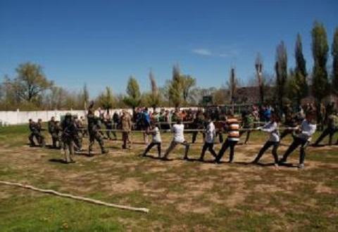 В Каменском завершился I этап городских соревнований «Сокол» Днепродзержинск