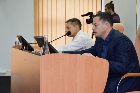 В г. Каменское прошла 36 сессия горсовета Днепродзержинск