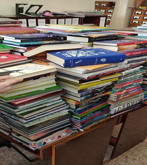 Каменская библиотека получила новые поступления в книжный фонд Днепродзержинск