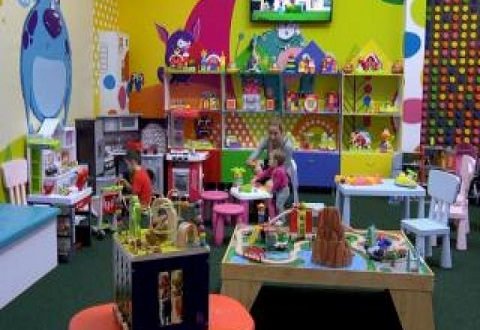 Для детей Каменского открыли игровой комплекс Днепродзержинск