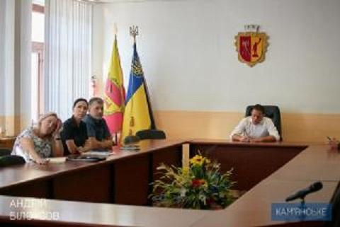 Мэр г. Каменское провел рабочее совещание с презентацией нового портала Днепродзержинск