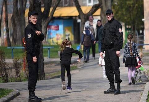 Места массового отдыха жителей Каменского патрулируют гвардейцы Днепродзержинск