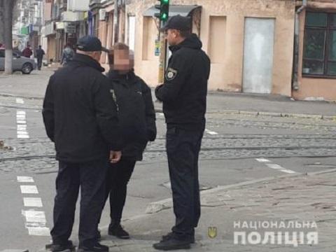 Пешеходов г. Каменское учили соблюдать ПДД Днепродзержинск