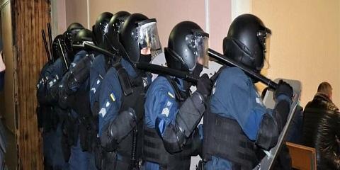 В Каменском провели тактико-специальное учение Днепродзержинск