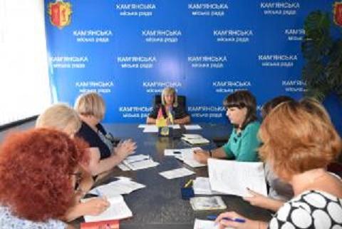 В г. Каменское провели совместное совещание с руководством женской ИК № 34 Днепродзержинск