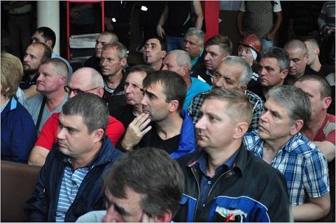 На «ДМК» г. Каменское прошла встреча с генеральным директором ООО «Метинвест-Промсервис» Днепродзержинск