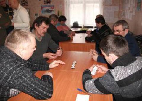 «Инваспорт» Каменского наградил призеров соревнований в домино Днепродзержинск