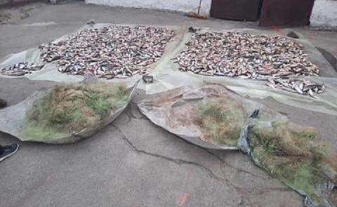 На Каменском водохранилище правоохранители задержали браконьера  Днепродзержинск