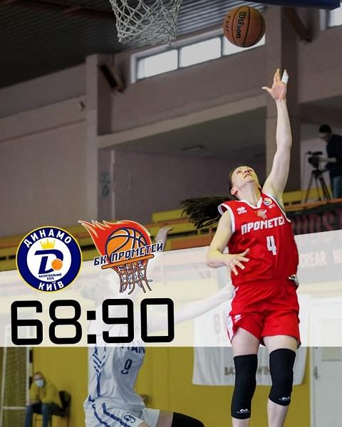 Каменская команда «Прометей» выиграла второй матч с БК «Динамо-НПУ»  Днепродзержинск