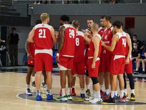 БК «Прометей» г. Каменское провел встречу с баскетболистами «Запорожья»  Днепродзержинск