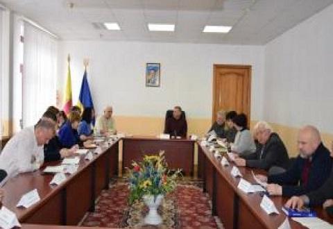 В г. Каменское прошло заседание комиссии по вопросам ТЭБ и ЧС Днепродзержинск
