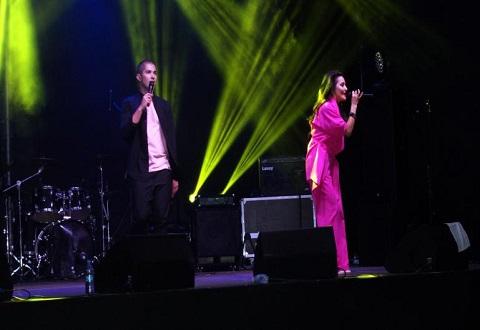 Первый день праздника в Каменском завершился концертом и салютом Днепродзержинск