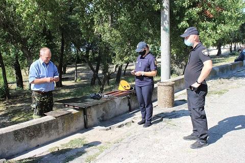 Полицейские и спасатели г. Каменское провели профилактические мероприятия Днепродзержинск