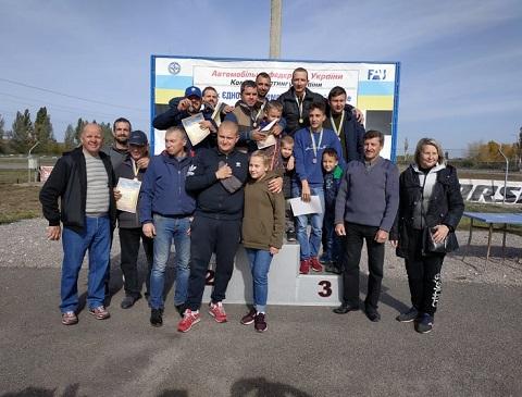 Картингисты г. Каменское вошли в число призеров среди спортсменов с поражением слуха Днепродзержинск
