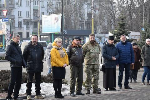 Каменчане помнят о Героях Небесной Сотни Днепродзержинск