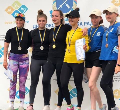 Каменчанка завоевала 4 награды чемпионата Украины Днепродзержинск