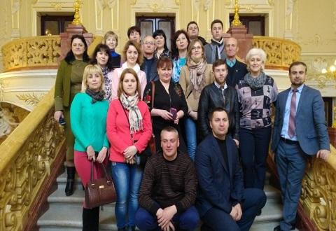Представители Каменского стали участниками учебного визита в Одессу Днепродзержинск