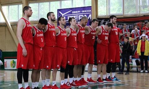 Каменские баскетболисты переиграли соперника в ответном матче с БК «Ровно» Днепродзержинск