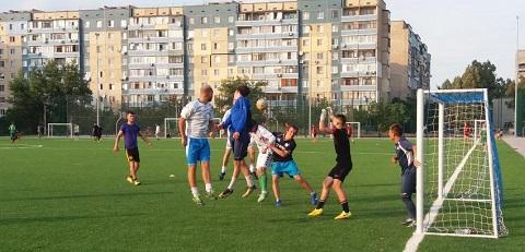 В Каменском стартовала 1/8 финала Кубка городского головы по футболу Днепродзержинск
