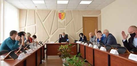 В Каменском прошло очередное заседание исполкома горсовета Днепродзержинск