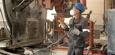 На ДМК г. Каменское завершили капитальный ремонт ВП № 2 Днепродзержинск