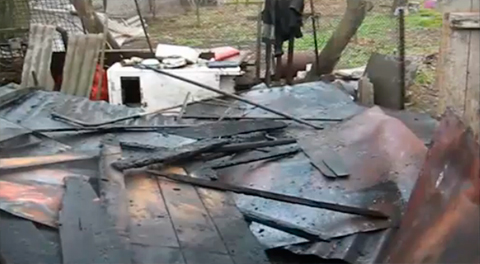 На улице Щедрина тушили пожар (ВИДЕО) Днепродзержинск