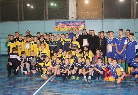 В турнире по мини-футболу в Каменском победила команда «SELECT» Днепродзержинск