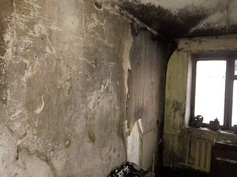В Южном районе г. Каменское ликвидировали пожар в жилой квартире Днепродзержинск
