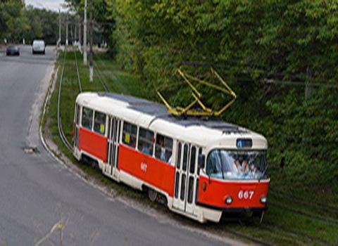 В Каменском на время приостановят движение трамвая №4 на жилмассив «Романково» Днепродзержинск