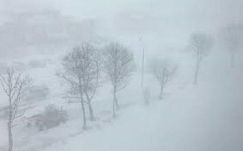 В Каменском снежит Днепродзержинск