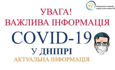 В больнице Днепра с подозрением на коронавирус умер житель г. Каменское Днепродзержинск