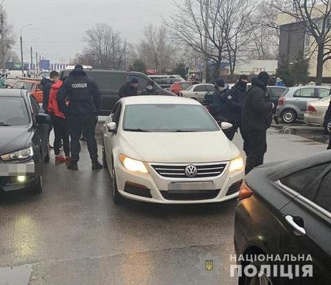 В Каменском провели задержание мужчины по подозрению в вымогательстве Днепродзержинск