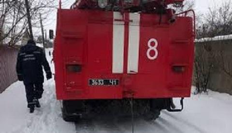 Каменские спасатели сняли  с крыши кота Днепродзержинск