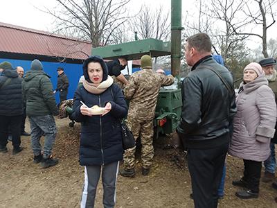 Горела Масленица в левобережном парке Каменского Днепродзержинск