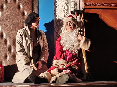 В Каменском состоялась премьера спектакля «Мужчина к празднику» Днепродзержинск