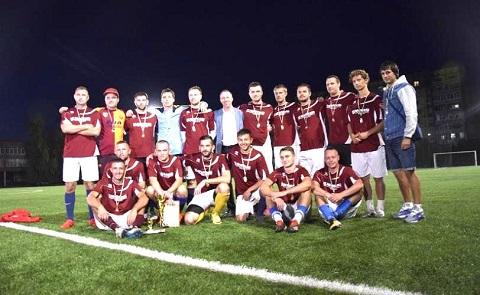 В Каменском определили победителя чемпионата города по футболу Днепродзержинск