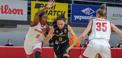 Женская команда «Прометей» г. Каменское одержали победу на выезде Днепродзержинск