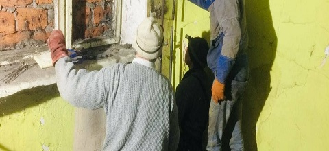 В Каменском аварийная служба ликвидировала порыв системы отопления в доме на Аношкина Днепродзержинск
