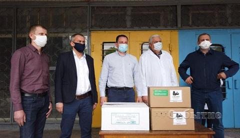 Опорная больница г. Каменское получила оборудование Днепродзержинск